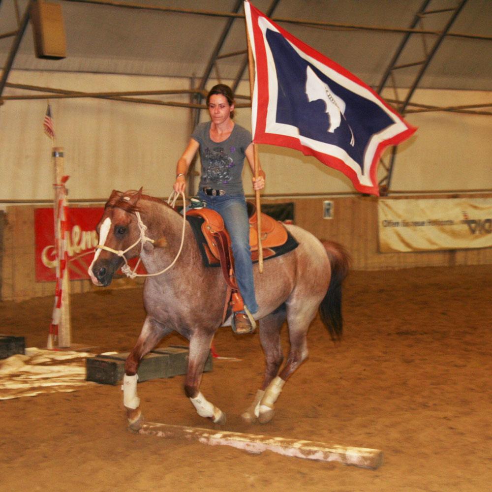 EXCA Extreme Cowboy Austria Trail Horseman Joedy Cunningham