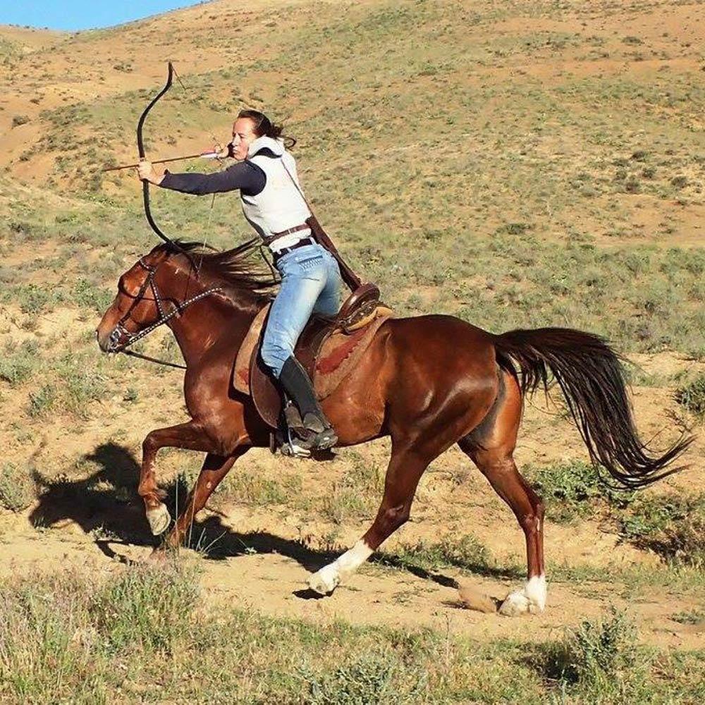 Els-kwatawa Ranch Westernreiten Trail Wanderreiten X-treme X-Cross Berittenes Bogenschiessen